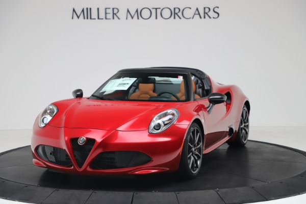 New 2020 Alfa Romeo 4C Spider for sale $82,395 at Maserati of Westport in Westport CT 06880 1