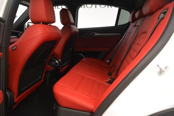 New 2019 Alfa Romeo Stelvio Ti Sport Q4 for sale $54,340 at Maserati of Westport in Westport CT 06880 19