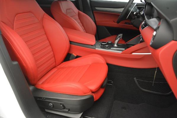 New 2019 Alfa Romeo Stelvio Ti Sport Q4 for sale $54,340 at Maserati of Westport in Westport CT 06880 24