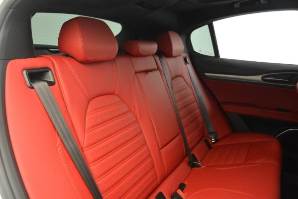 New 2019 Alfa Romeo Stelvio Ti Sport Q4 for sale $54,340 at Maserati of Westport in Westport CT 06880 26