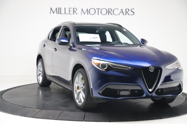 New 2019 Alfa Romeo Stelvio Ti Sport Q4 for sale $56,690 at Maserati of Westport in Westport CT 06880 11