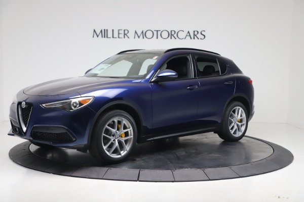 New 2019 Alfa Romeo Stelvio Ti Sport Q4 for sale $56,690 at Maserati of Westport in Westport CT 06880 2