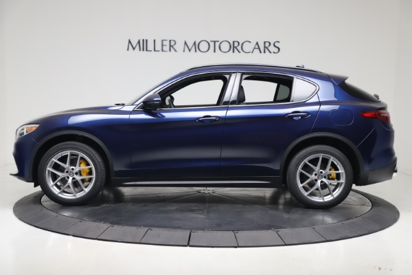 New 2019 Alfa Romeo Stelvio Ti Sport Q4 for sale $56,690 at Maserati of Westport in Westport CT 06880 3