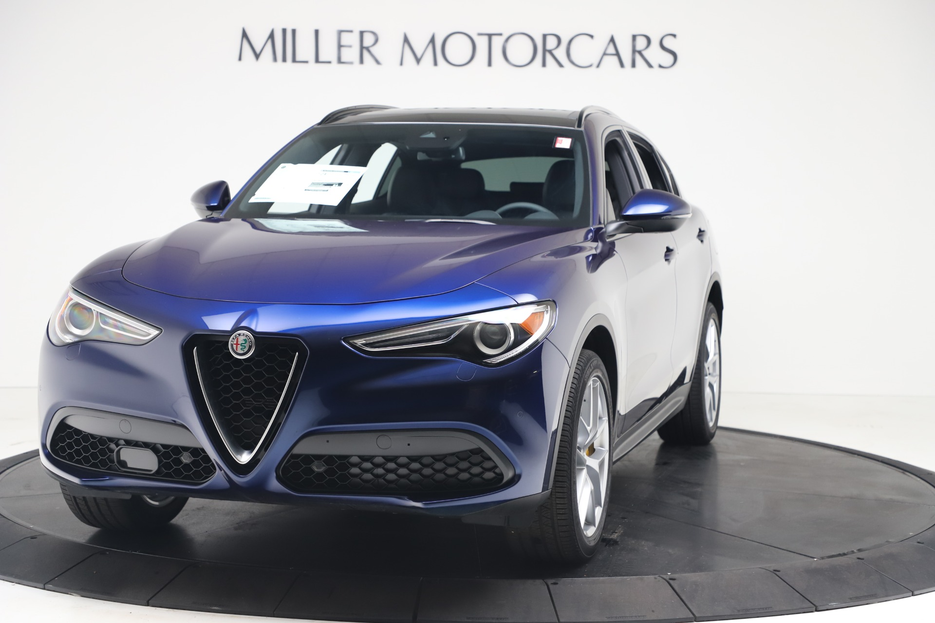 New 2019 Alfa Romeo Stelvio Ti Sport Q4 for sale $56,690 at Maserati of Westport in Westport CT 06880 1