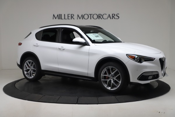 New 2019 Alfa Romeo Stelvio Ti Sport Q4 for sale Sold at Maserati of Westport in Westport CT 06880 10