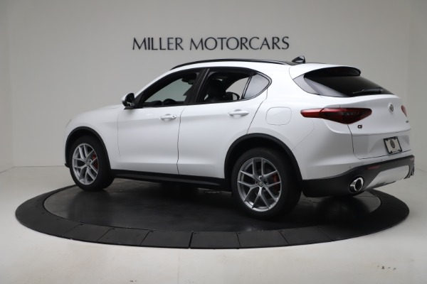 New 2019 Alfa Romeo Stelvio Ti Sport Q4 for sale Sold at Maserati of Westport in Westport CT 06880 4