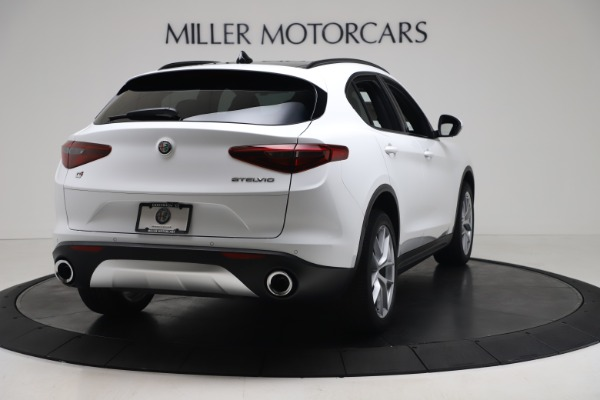 New 2019 Alfa Romeo Stelvio Ti Sport Q4 for sale Sold at Maserati of Westport in Westport CT 06880 7