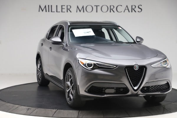 New 2019 Alfa Romeo Stelvio Ti Q4 for sale $51,090 at Maserati of Westport in Westport CT 06880 11