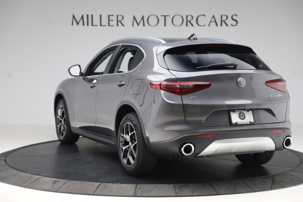 New 2019 Alfa Romeo Stelvio Ti Q4 for sale $51,090 at Maserati of Westport in Westport CT 06880 5