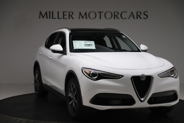 New 2019 Alfa Romeo Stelvio Ti Q4 for sale $51,490 at Maserati of Westport in Westport CT 06880 11