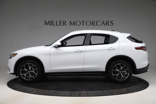 New 2019 Alfa Romeo Stelvio Ti Q4 for sale $51,490 at Maserati of Westport in Westport CT 06880 3