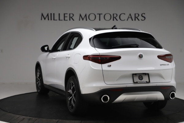New 2019 Alfa Romeo Stelvio Ti Q4 for sale $51,490 at Maserati of Westport in Westport CT 06880 5