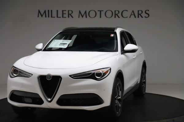 New 2019 Alfa Romeo Stelvio Ti Q4 for sale $51,490 at Maserati of Westport in Westport CT 06880 1