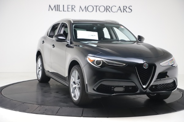 New 2019 Alfa Romeo Stelvio Ti Q4 for sale $51,840 at Maserati of Westport in Westport CT 06880 11