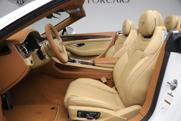 New 2020 Bentley Continental GTC V8 for sale $279,560 at Maserati of Westport in Westport CT 06880 28