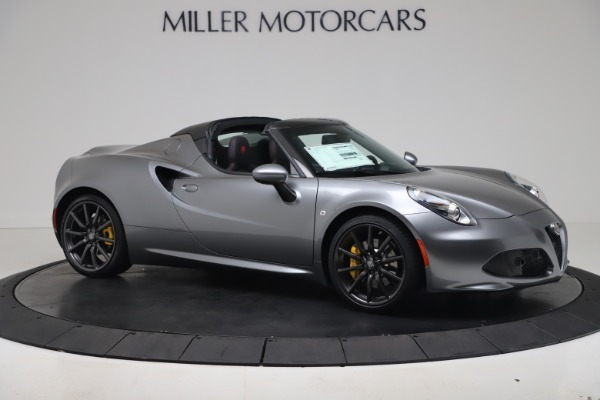 New 2020 Alfa Romeo 4C Spider for sale $78,795 at Maserati of Westport in Westport CT 06880 10
