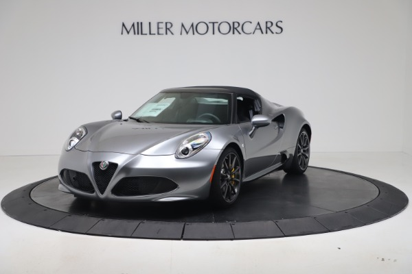 New 2020 Alfa Romeo 4C Spider for sale $78,795 at Maserati of Westport in Westport CT 06880 12