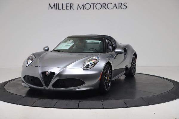 New 2020 Alfa Romeo 4C Spider for sale $78,795 at Maserati of Westport in Westport CT 06880 1