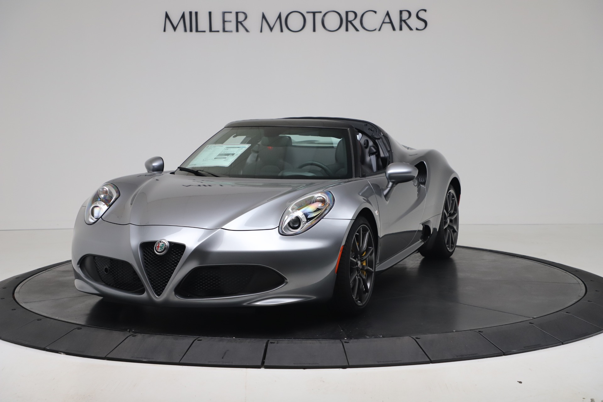 New 2020 Alfa Romeo 4C Spider for sale $78,795 at Maserati of Westport in Westport CT 06880 1