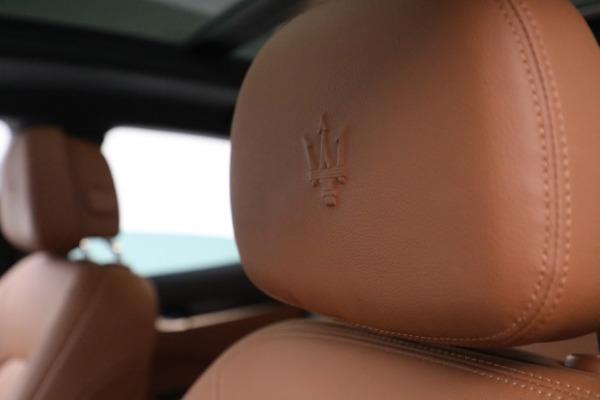 New 2020 Maserati Levante Q4 for sale $81,035 at Maserati of Westport in Westport CT 06880 28