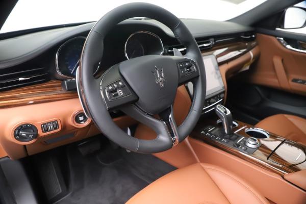 New 2020 Maserati Quattroporte S Q4 GranLusso for sale $117,935 at Maserati of Westport in Westport CT 06880 13