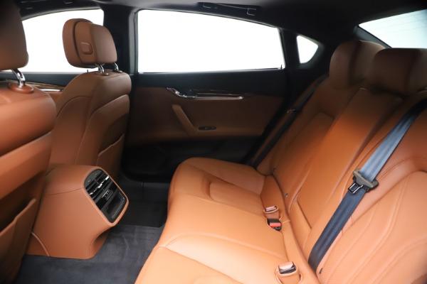 New 2020 Maserati Quattroporte S Q4 GranLusso for sale $117,935 at Maserati of Westport in Westport CT 06880 19