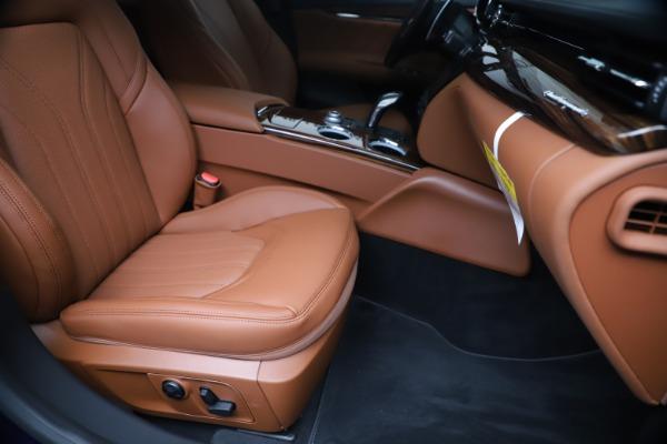 New 2020 Maserati Quattroporte S Q4 GranLusso for sale $117,935 at Maserati of Westport in Westport CT 06880 24