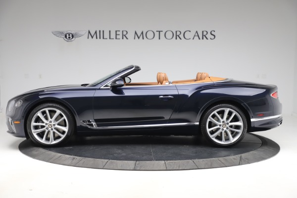 New 2020 Bentley Continental GTC W12 for sale $292,575 at Maserati of Westport in Westport CT 06880 3