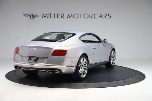 New 2016 Bentley Continental GT W12 for sale $128,900 at Maserati of Westport in Westport CT 06880 7