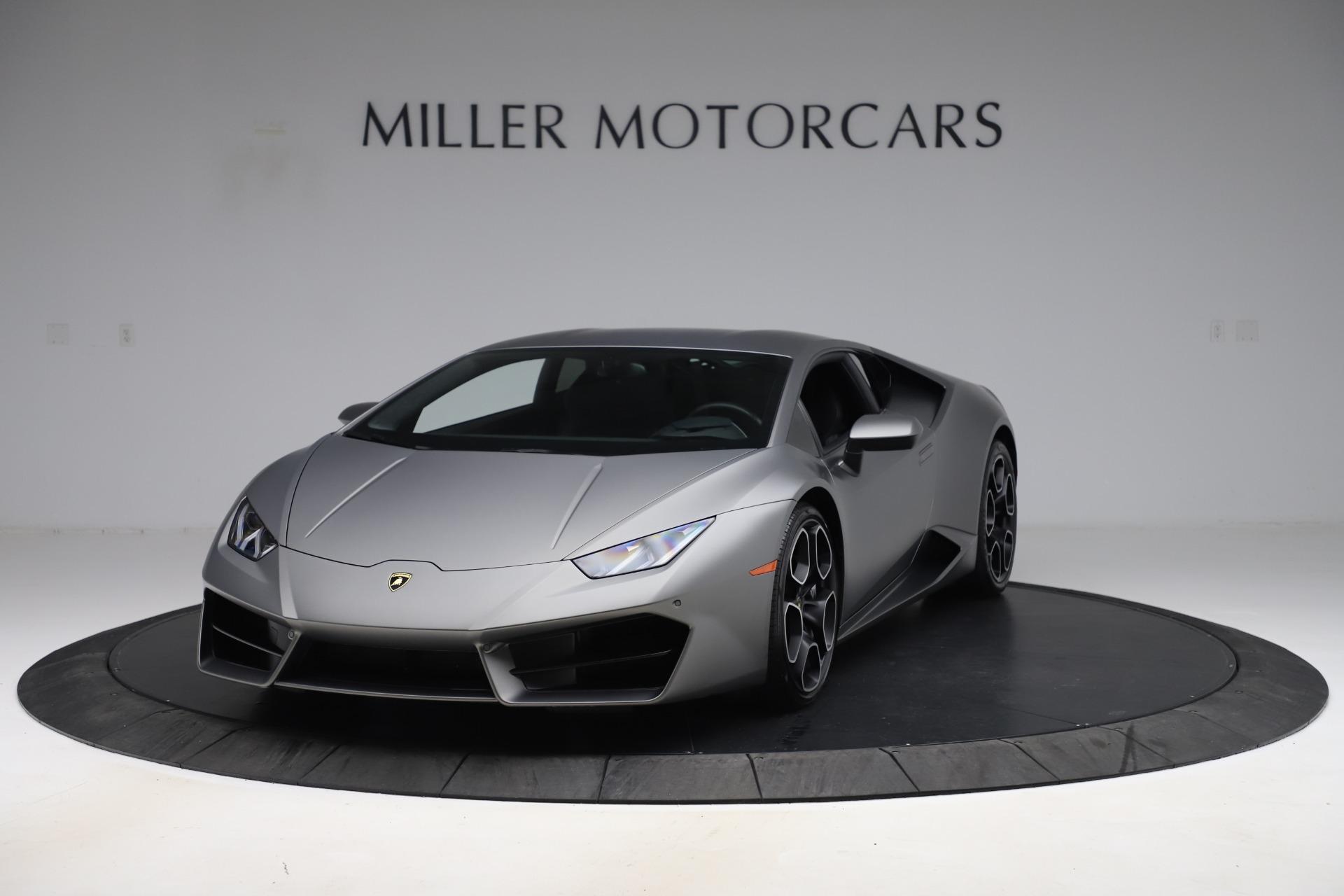 Used 2017 Lamborghini Huracan LP 580-2 for sale Sold at Maserati of Westport in Westport CT 06880 1