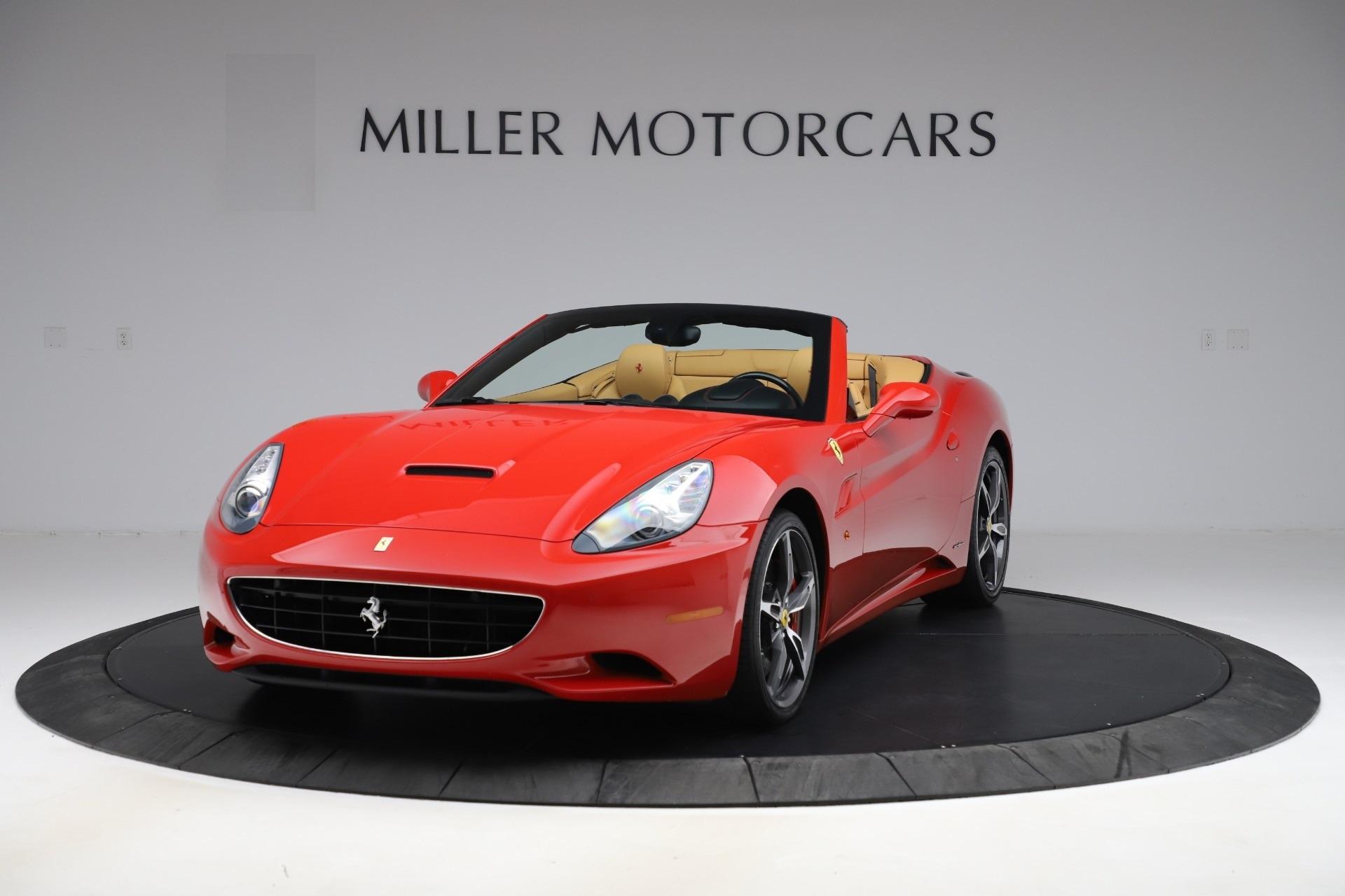 Used 2014 Ferrari California 30 for sale $127,900 at Maserati of Westport in Westport CT 06880 1