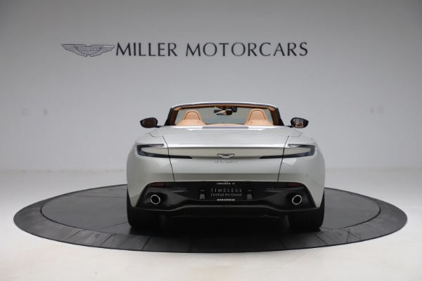 Used 2020 Aston Martin DB11 Volante Convertible for sale $239,900 at Maserati of Westport in Westport CT 06880 7