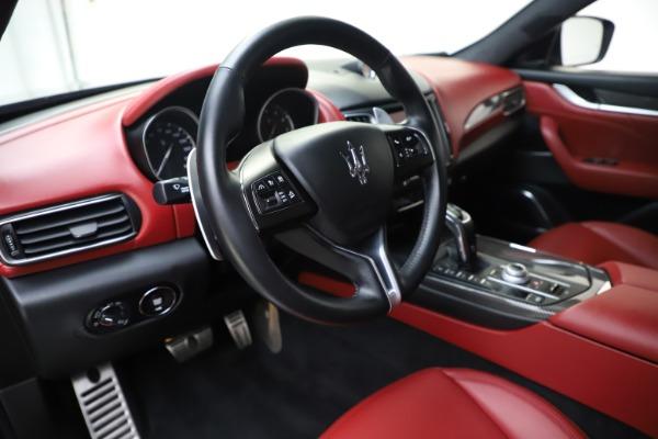Used 2019 Maserati Levante S Q4 GranLusso for sale $73,900 at Maserati of Westport in Westport CT 06880 13