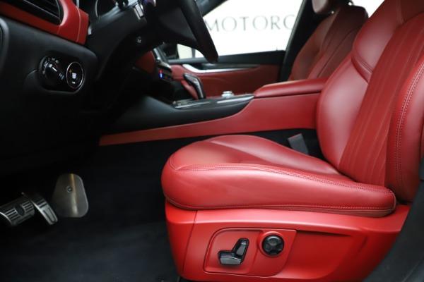 Used 2019 Maserati Levante S Q4 GranLusso for sale $73,900 at Maserati of Westport in Westport CT 06880 14