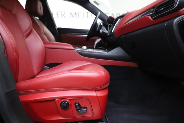 Used 2019 Maserati Levante S Q4 GranLusso for sale $73,900 at Maserati of Westport in Westport CT 06880 23