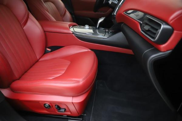 Used 2019 Maserati Levante S Q4 GranLusso for sale $73,900 at Maserati of Westport in Westport CT 06880 24