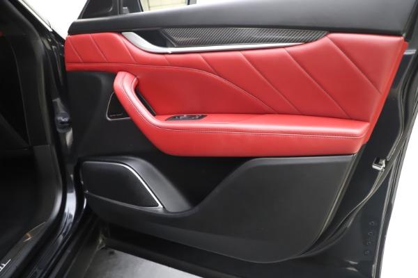 Used 2019 Maserati Levante S Q4 GranLusso for sale $73,900 at Maserati of Westport in Westport CT 06880 25