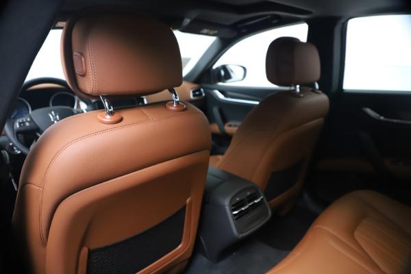 New 2020 Maserati Ghibli S Q4 for sale $85,535 at Maserati of Westport in Westport CT 06880 20