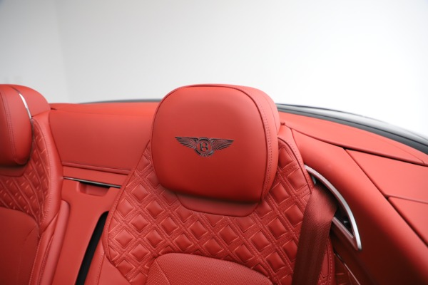 New 2020 Bentley Continental GTC V8 for sale $277,110 at Maserati of Westport in Westport CT 06880 25