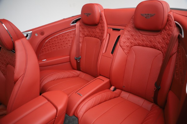 New 2020 Bentley Continental GTC V8 for sale $277,110 at Maserati of Westport in Westport CT 06880 26