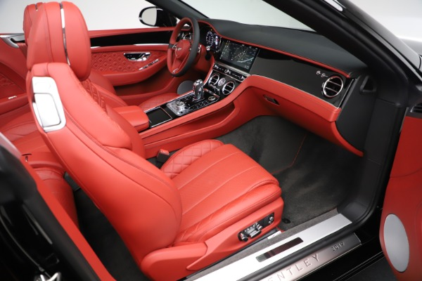 New 2020 Bentley Continental GTC V8 for sale $277,110 at Maserati of Westport in Westport CT 06880 28