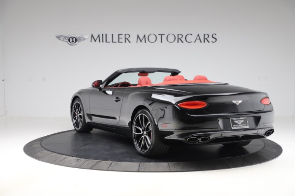 New 2020 Bentley Continental GTC V8 for sale $277,110 at Maserati of Westport in Westport CT 06880 5