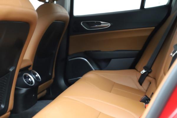 Used 2020 Alfa Romeo Giulia Q4 for sale Sold at Maserati of Westport in Westport CT 06880 17
