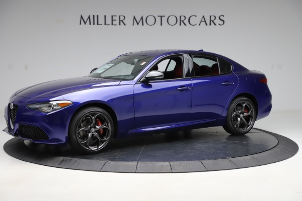 New 2020 Alfa Romeo Giulia Ti Sport Q4 for sale $50,445 at Maserati of Westport in Westport CT 06880 2