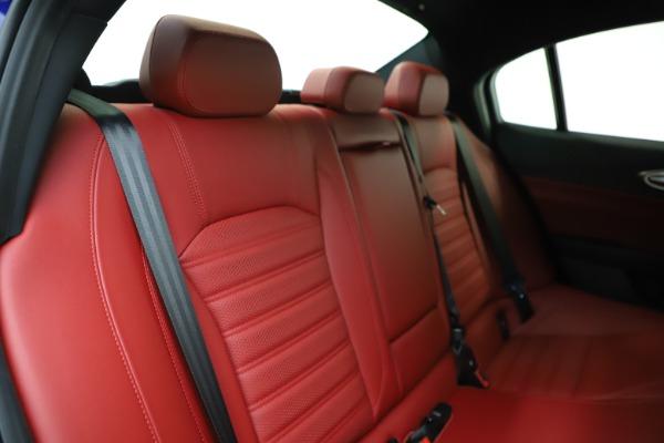 New 2020 Alfa Romeo Giulia Ti Sport Q4 for sale Sold at Maserati of Westport in Westport CT 06880 25