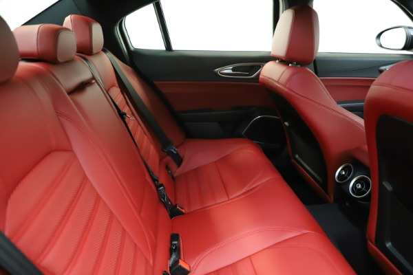 New 2020 Alfa Romeo Giulia Ti Sport Q4 for sale Sold at Maserati of Westport in Westport CT 06880 26