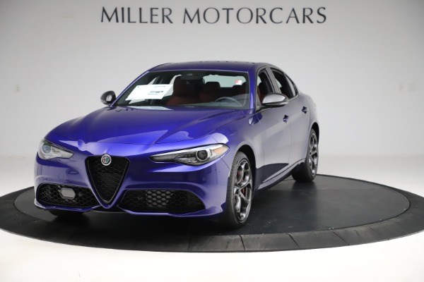 New 2020 Alfa Romeo Giulia Ti Sport Q4 for sale $50,445 at Maserati of Westport in Westport CT 06880 1