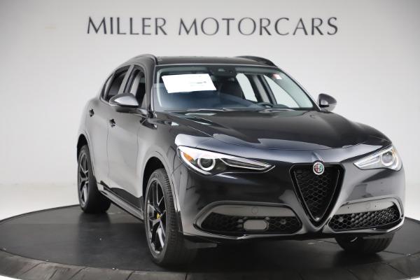 New 2020 Alfa Romeo Stelvio Sport Q4 for sale $50,795 at Maserati of Westport in Westport CT 06880 11
