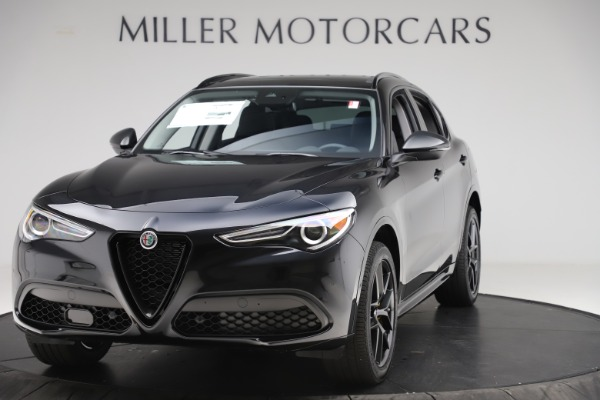 New 2020 Alfa Romeo Stelvio Sport Q4 for sale $50,795 at Maserati of Westport in Westport CT 06880 1