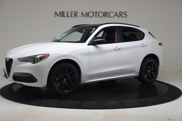 New 2020 Alfa Romeo Stelvio Sport Q4 for sale $50,195 at Maserati of Westport in Westport CT 06880 2